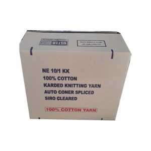 corrugated box for textile